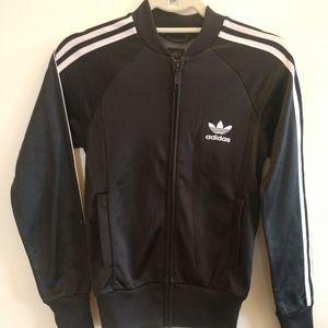 Adidas classic track jacket.